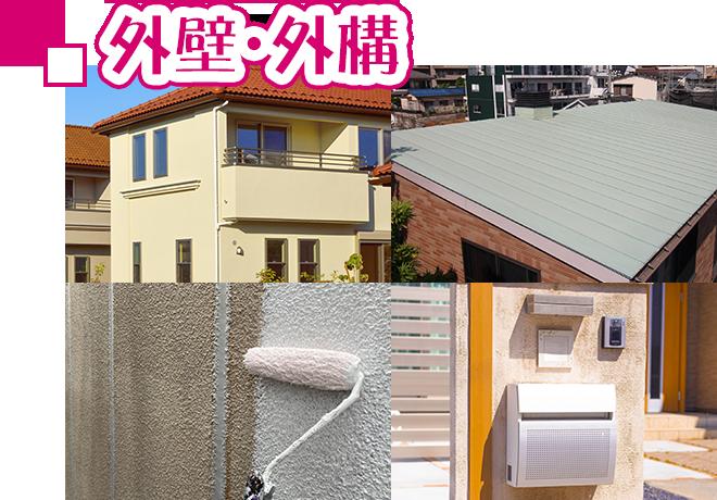 外壁塗装、屋根塗装、外構のリフォームと修繕