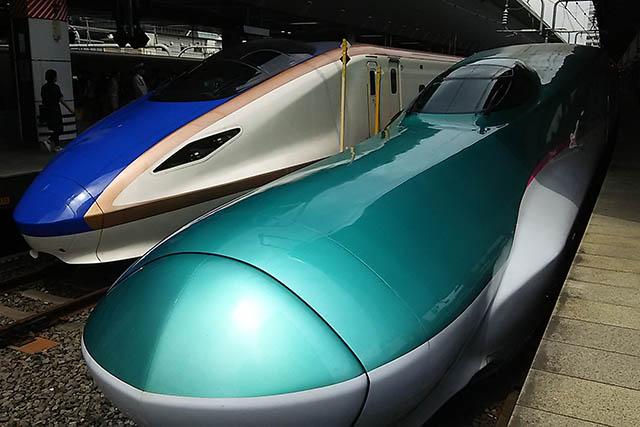 東北新幹線、北陸新幹線